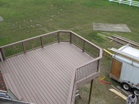 Deck Construction, Manchester, MI